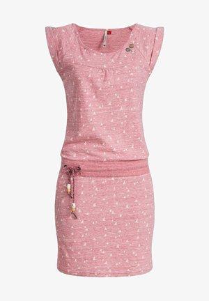 Day dress - rosa meliert