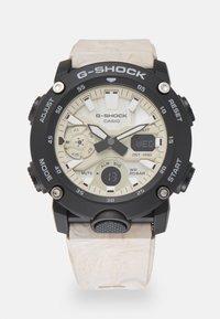 G-SHOCK - UTILITY WAVY MARBLE - Digital watch - tan - 0