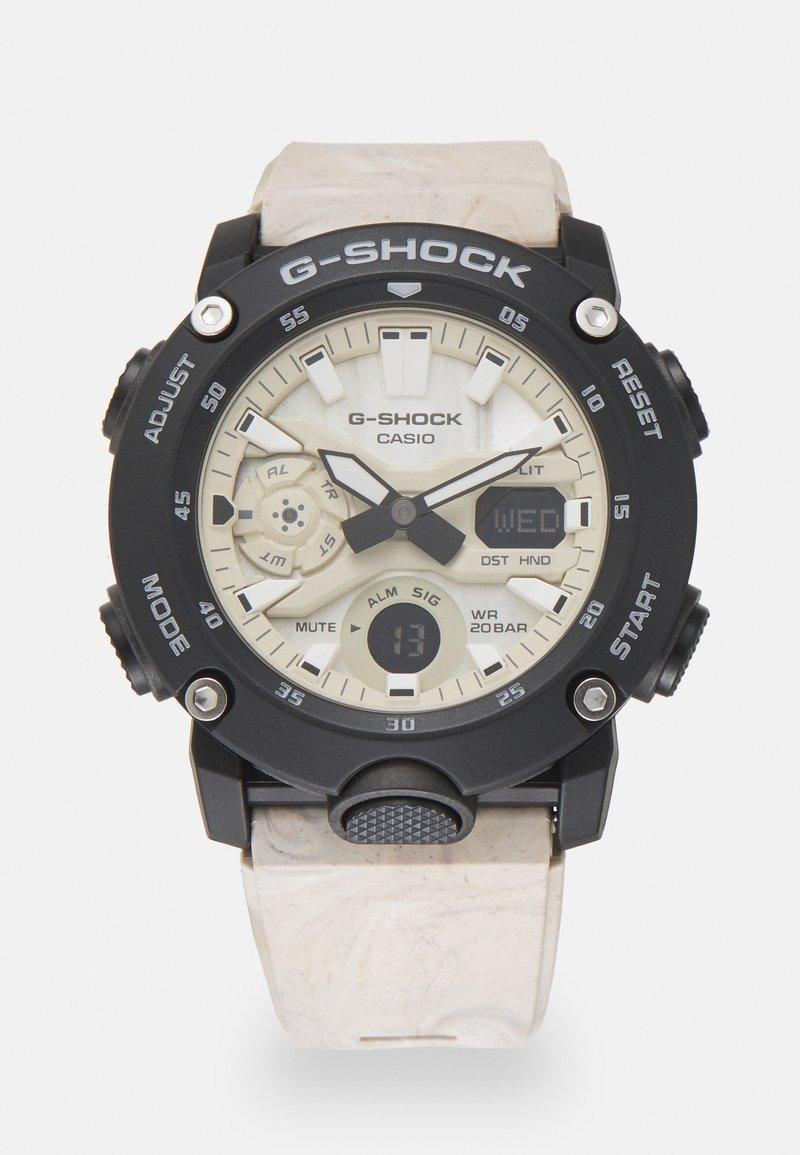 G-SHOCK - UTILITY WAVY MARBLE - Digital watch - tan
