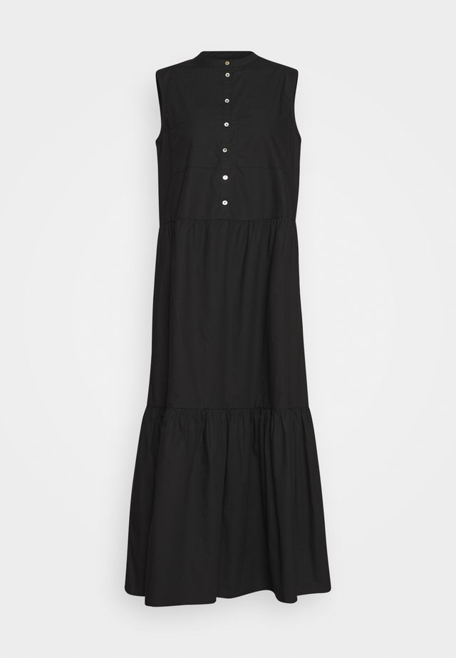 KATJA SLEEVELSS MAXI DRESS - Vestido largo - black