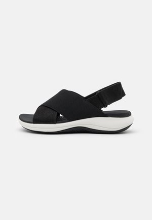 MIRA SAND - Sandály na platformě - black