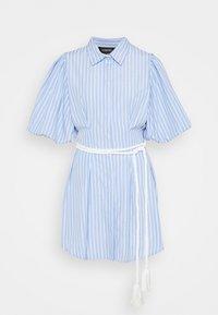 Mossman - THE CRYSTAL SEA DRESS - Košilové šaty - blue/white - 4