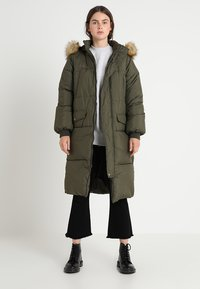 Urban Classics - Winter coat - darkolive - 0