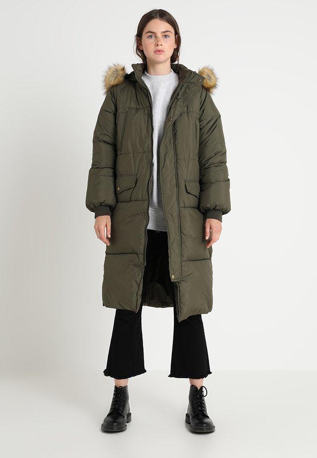 Winter coat - darkolive