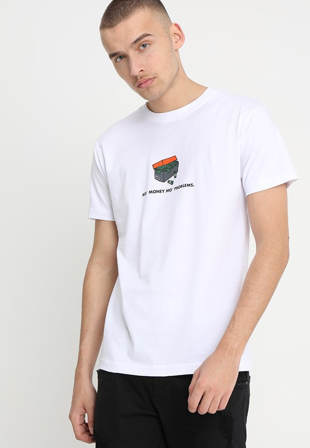 SHOEBOX TEE - Print T-shirt - white
