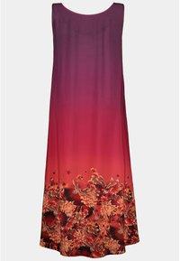 Ulla Popken - Jersey dress - rouge vin foncé - 2