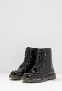 Friboo - Bottines à lacets - black