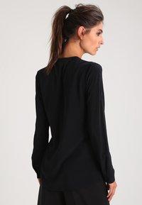 Zalando Essentials - Button-down blouse - black - 2
