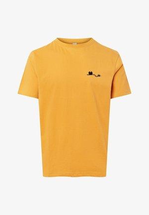 MA DALTON AMOUR - Print T-shirt - mustard yellow