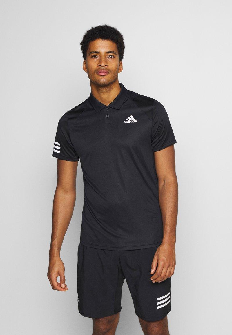 adidas Performance - CLUB - T-shirt de sport - black/white