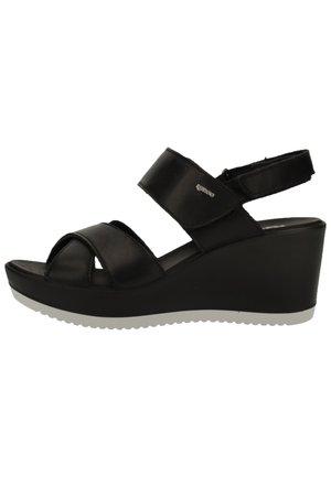 IGI&CO SANDALEN - Platform sandals - nero 00