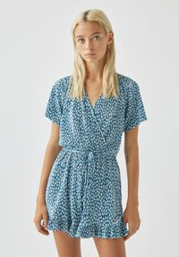 PULL&BEAR - Jumpsuit - blue - 0