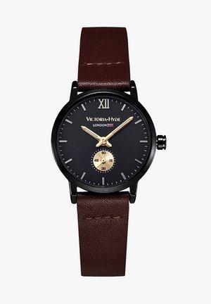 RETRO ELEGANT SMALL DIAL - Horloge - schwarz braun