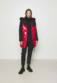 River Island - Winter coat - red/black - 1