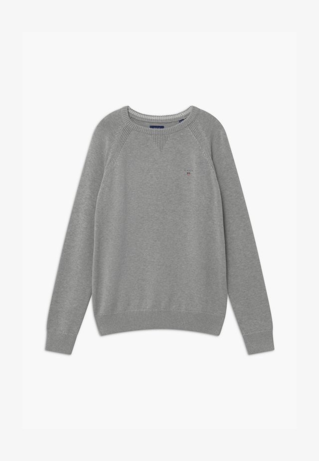 CASUAL CREW - Jumper - LIGHT GREY