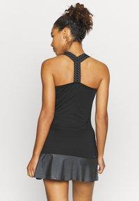 adidas Performance - GAMESET AEROREADY SPORTS TENNIS SLIM DRESS - Sports dress - black/grey - 2