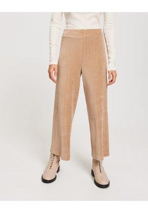 Trousers - cashmere cream