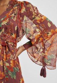 Topshop - AUTUMN FLORAL TASSEL TIE - Day dress - multi - 6