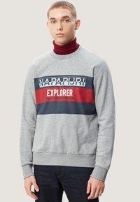Napapijri - BOVES - Sweatshirts - med grey mel - 0