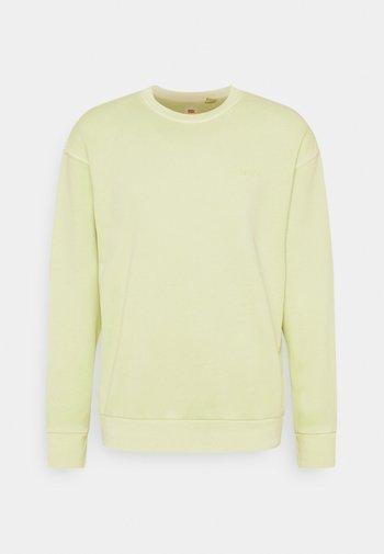RELAXED CREW UNISEX - Sweatshirt - greens