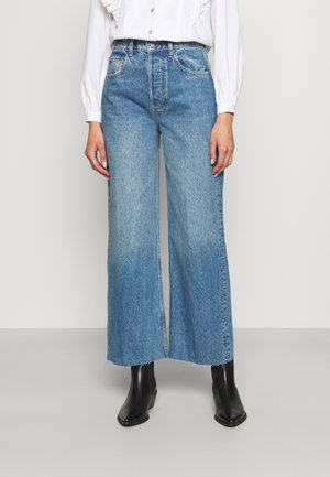 THE CHARLEY  WIDE LEG  - Relaxed fit jeans - far country