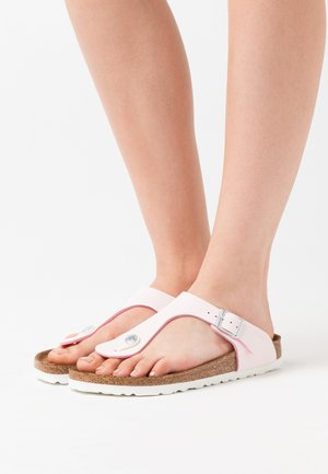 GIZEH VEGAN - Slippers - brushed rose