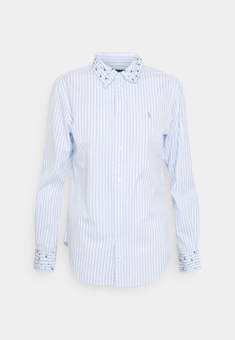 Polo Ralph Lauren - GEORGIA LONG SLEEVE - Košile - white/blue