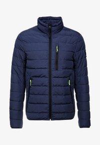 LIGHTWEIGHT PADDED JACKET - Winter jacket - dark blue melange