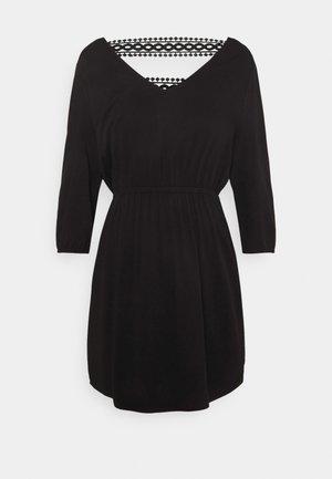 VISOMMI NEW DETAIL DRESS - Day dress - black
