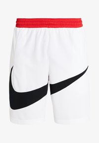Nike Performance - DRY SHORT - Sports shorts - white/black - 3