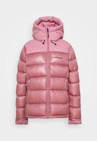 Peak Performance - FROST GLACIER HOOD - Down jacket - frosty rose - 0