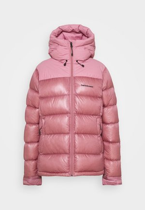 FROST GLACIER DOWN HOOD - Down jacket - frosty rose