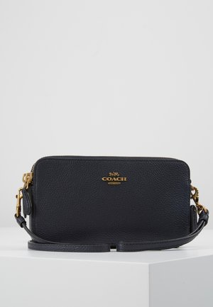 POLISHED PEBBLE KIRA CROSSBODY - Skulderveske - midnight navy