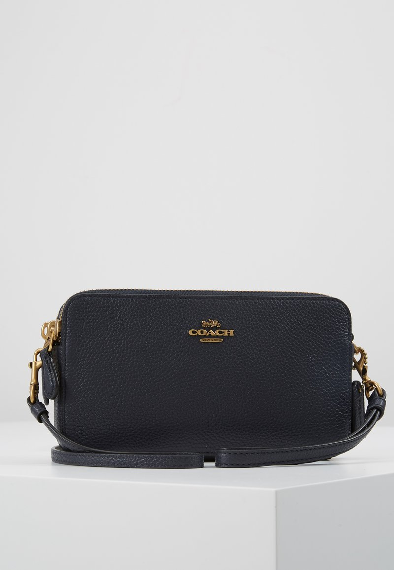 Coach - POLISHED PEBBLE KIRA CROSSBODY - Across body bag - midnight navy