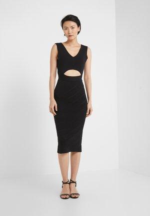 NAURU ABITO  - Pouzdrové šaty - black