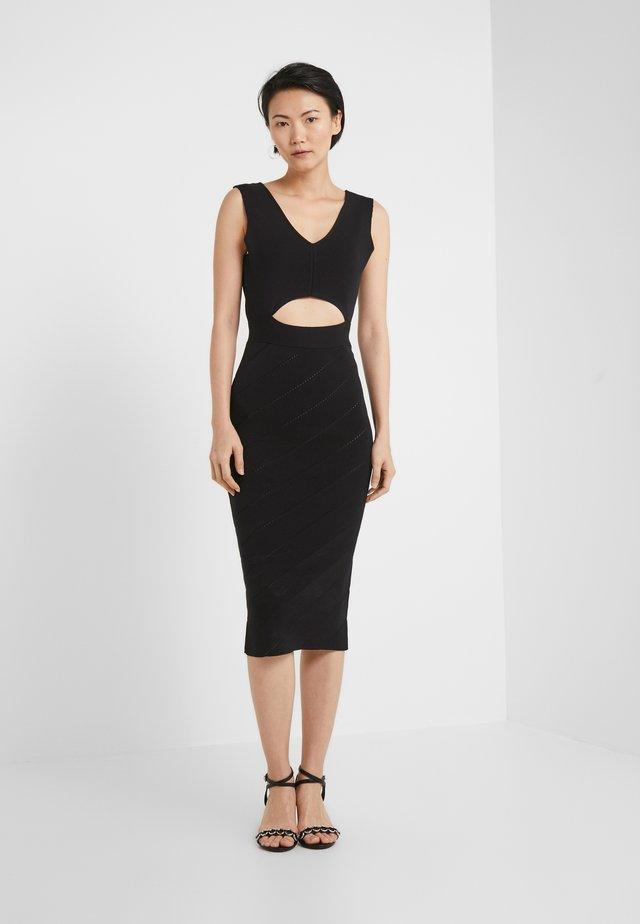 NAURU ABITO  - Vestido de tubo - black