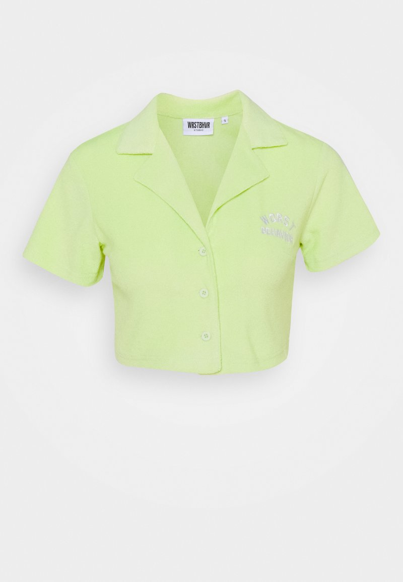 WRSTBHVR - BLOUSE EDIE - T-shirt print - lime