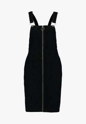 LADIES DUNGAREE DRESS - Freizeitkleid - black
