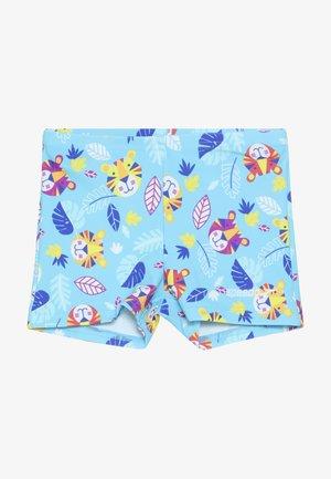 DIGI - Swimming trunks - turquoise/yellow