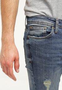 Pier One - Jeans slim fit - destroyed denim - 3