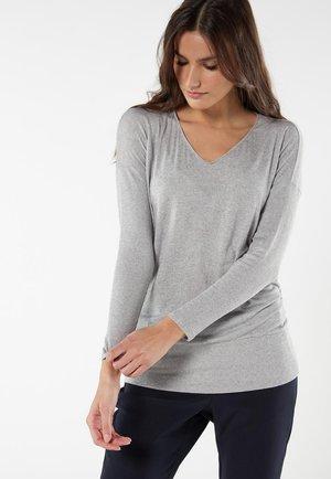 Pyjama top - grigio mel.