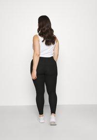 Pieces Curve - PCRIBBI - Leggings - Trousers - black - 2