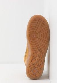 Nike Sportswear - AIR FORCE 1  - High-top trainers - wheat/light brown - 5