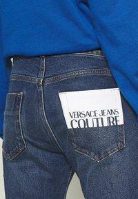Versace Jeans Couture - JEANS - Slim fit jeans - blue denim - 5