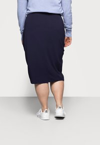 Even&Odd Curvy - 2 PACK - Pencil skirt - black/blue - 2