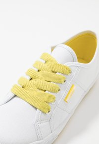 Esprit - ITALIA LACE UP - Trainers - bright yellow - 2