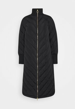 YASABIRA LONG COAT - Down coat - black