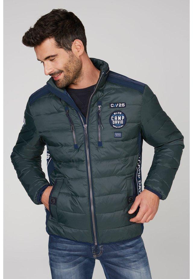 Winter jacket - kale green