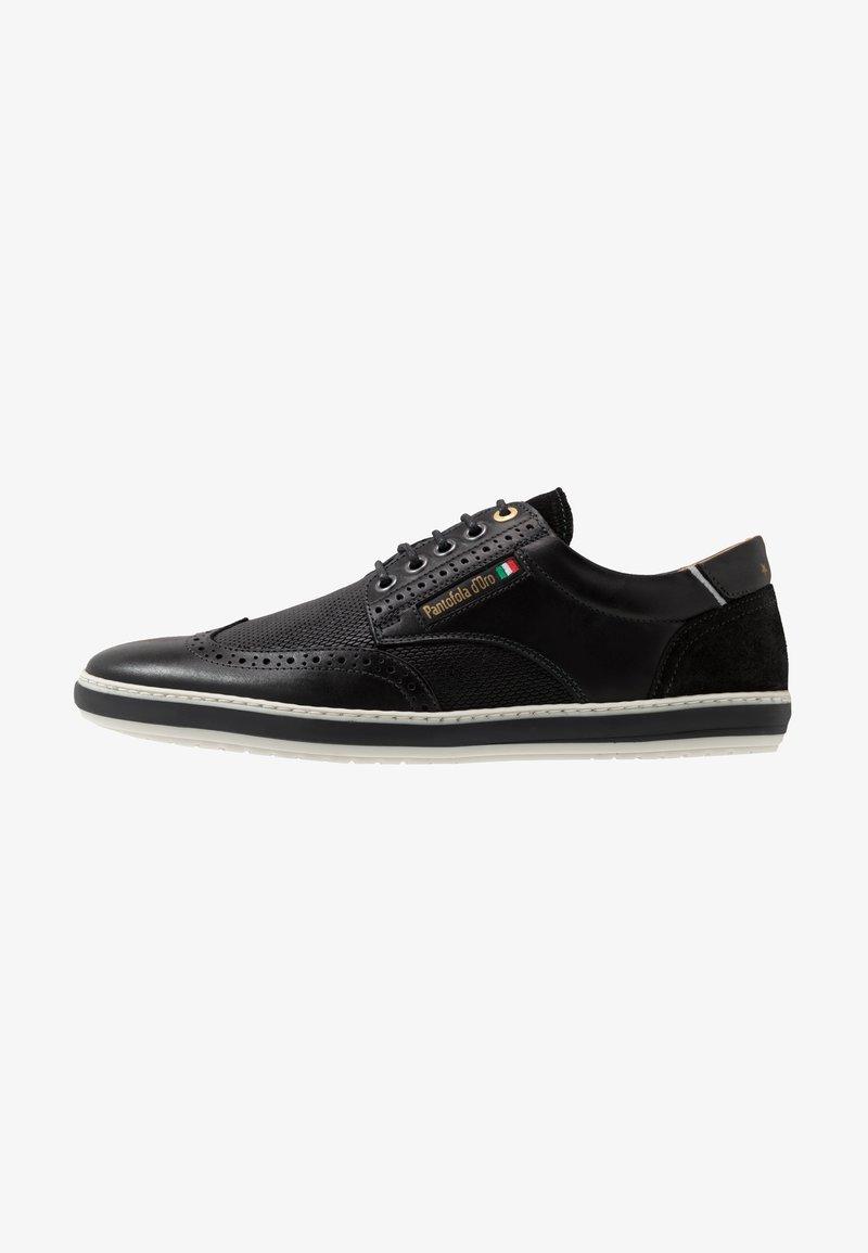 Pantofola d'Oro - MILAZZO UOMO LOW - Sznurowane obuwie sportowe - black