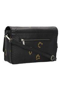 Cowboysbag - ONYX - Across body bag - snake black/gold - 1